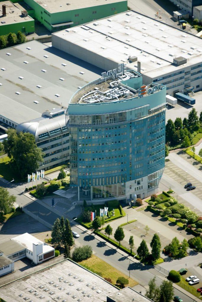 Das EDE Gebäude in Wuppertal am EDE-Platz 1 (Quelle: ede.de)