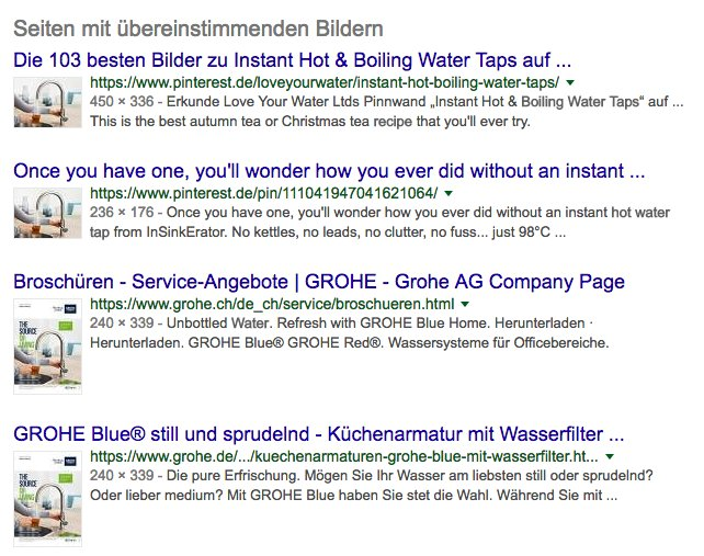 Grohe goes online & direct (Quelle: Screenshot Kitchentec-armaturen.de)