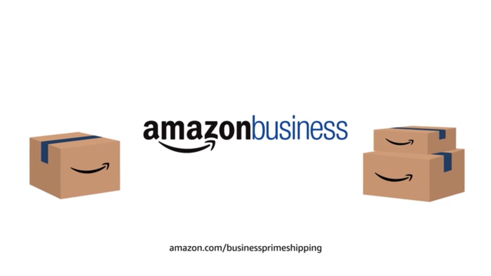 Da lacht das Paket. Wie Amazon Business Prime Shipping funktioniert wird im Video erklärt (Quelle: Amazon.com)