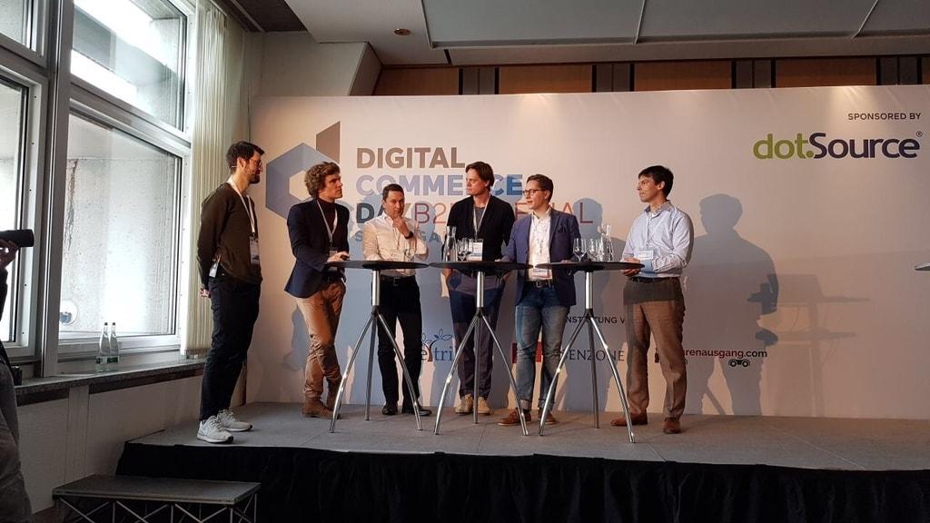 Bislang einmalig in der Geschichte des B2B E-Commerce: Contorion, Würth, Berner, Zamro und Mercateo im MRO-Panel.