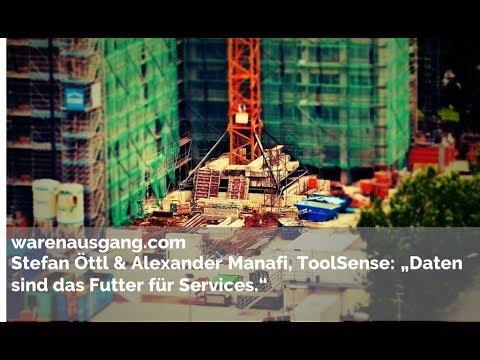 Stefan Öttl & Alexander Manafi von ToolSense im warenausgang.com Interview