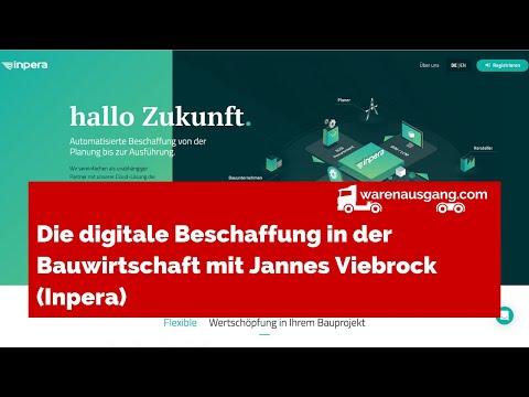 Die digitale Beschaffung in der Bauwirtschaft mit Jannes Viebrock (Inpera)
