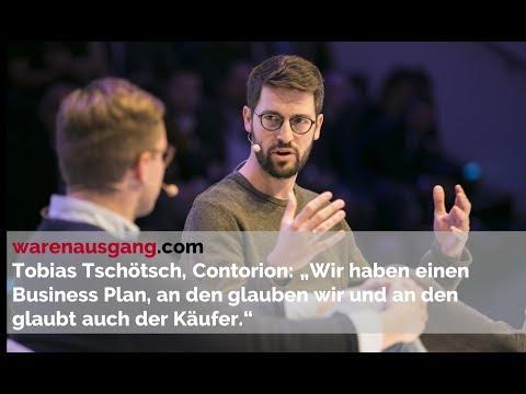 Contorion Co-Founder Tobias Tschötsch im warenausgang.com Interview beim Digital Confession Drive