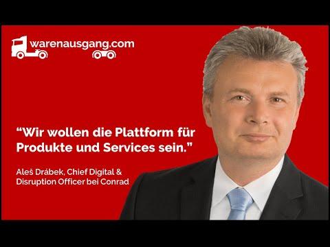 Aleš Drábek von Conrad Electronic im warenausgang.com Interview