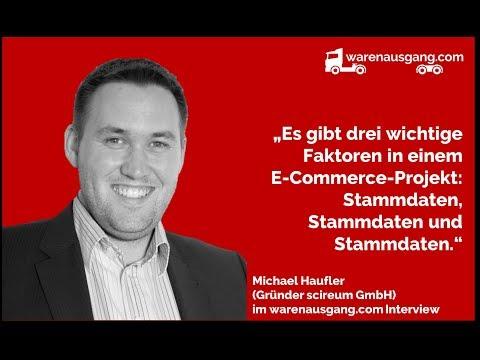 Produktdaten und die Zukunft des B2B-Großhandels mit Michael Haufler (scireum GmbH)
