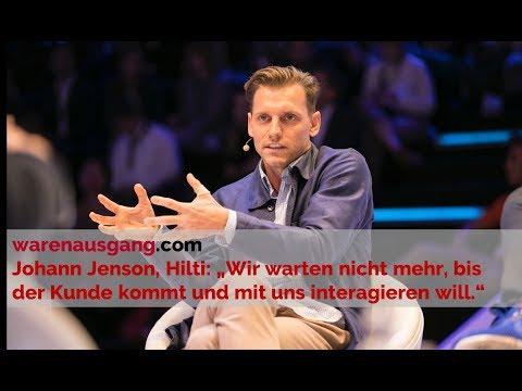 Hilti Global Head of Digital Customer Experience Johann Jenson im warenausgang.com Interview