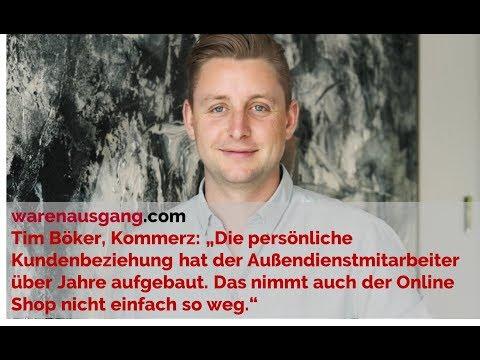 UX und UI im B2B E-Commerce: Tim Böker von Kommerz im warenausgang.com Interview