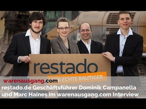 restado.de Geschäftsführer Dominik Campanella und Marc Haines im warenausgang.com Interview