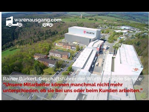 Rainer Bürkert von der Würth Industrie Service im warenausgang.com Podcast