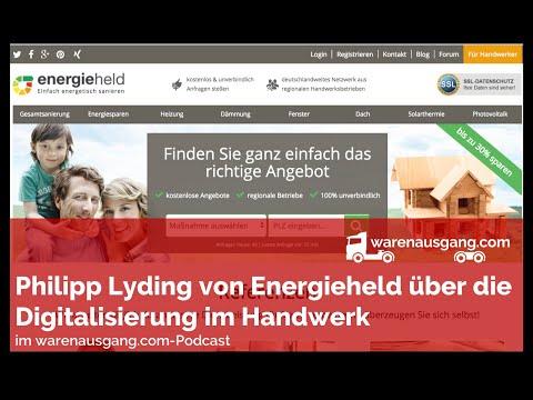 Digitalisierung und Plattformökonomie im Handwerk mit Energieheld im warenausgang.com Interview