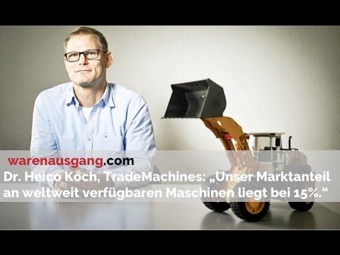 TradeMachines.de Gründer und Geschäftsführer Dr. Heico Koch im warenausgang.com Interview