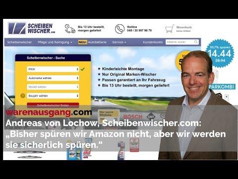 Scheibenwischer.com Gründer Andreas von Lochow im warenausgang.com Interview