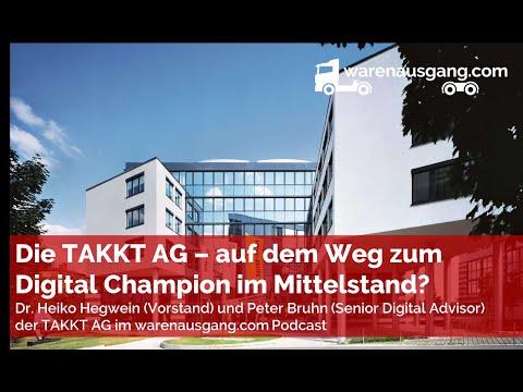 Dr. Heiko Hegwein und Peter Bruhn von der TAKKT AG im warenausgang.com Interview