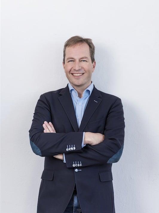 Mit pfeifendem Modem ins Internet: Martin Groß-Albenhausen ist einer der Vordenker für E-Commerce im BEVH (Quelle: BEVH)
