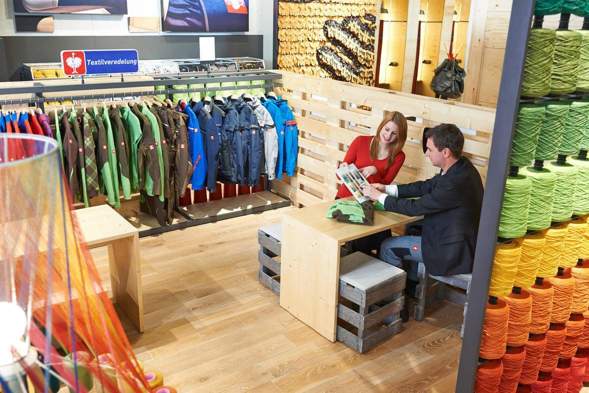 Der Workwearstore in Biebergemünd: Eldorado für Arbeitskleidungsfetischisten. (Quelle: Engelbert Strauss)
