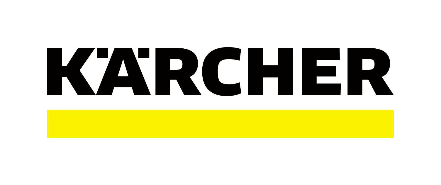 Hat 2015 auch ein Makeover bekommen: das allseits bekannte Kärcher Logo (Quelle: Kärcher)
