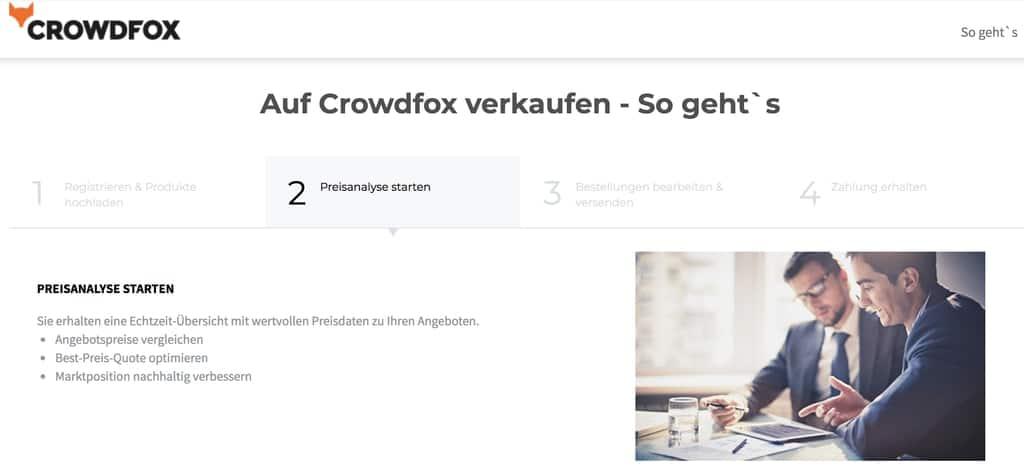 Crowdfox Händler werden